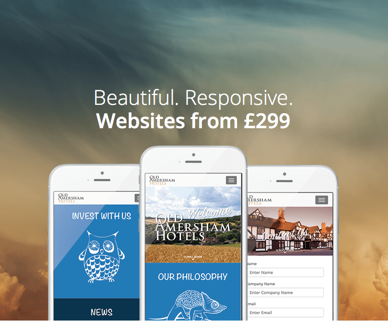 we're more mobile - resposive websites