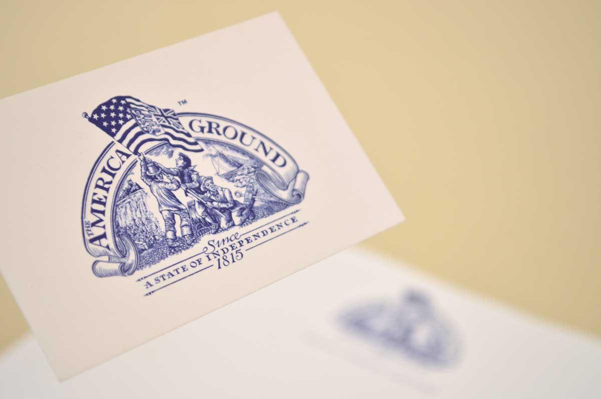 AMERICA GROUND business card