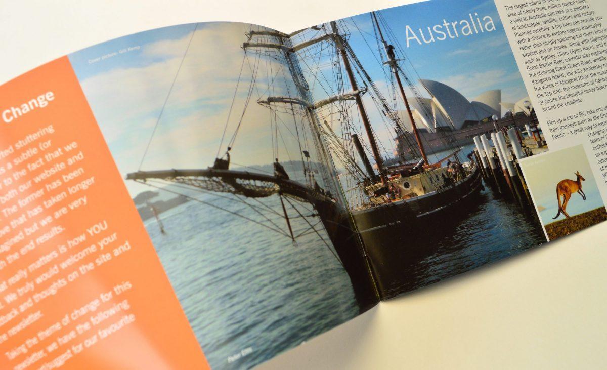 Experience brochure