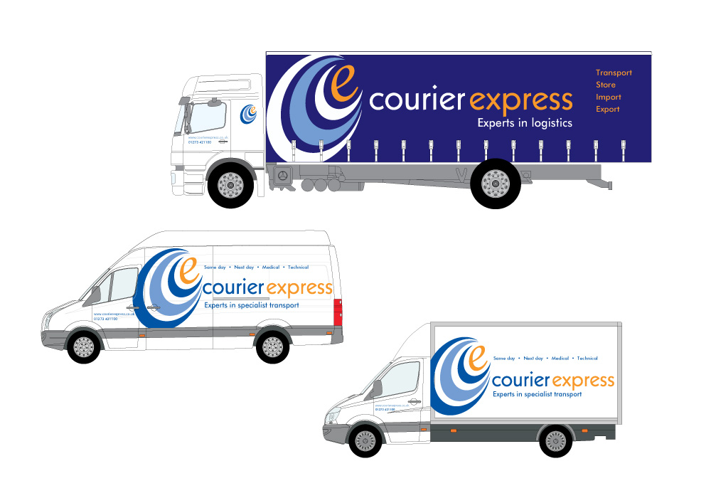 Courier express Livery