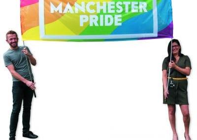 Pride Banner Cutout