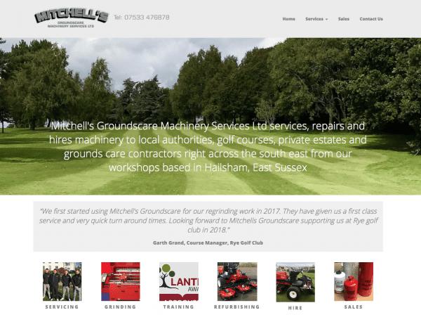mitchells groundscare website