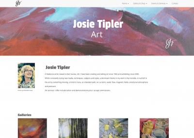 Josie Tipler website