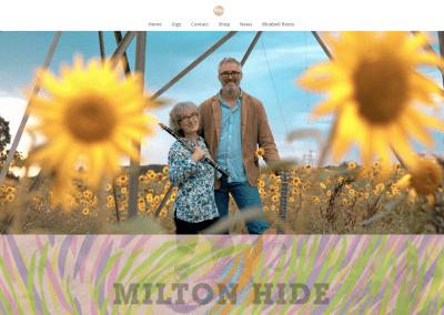 Milton Hide website