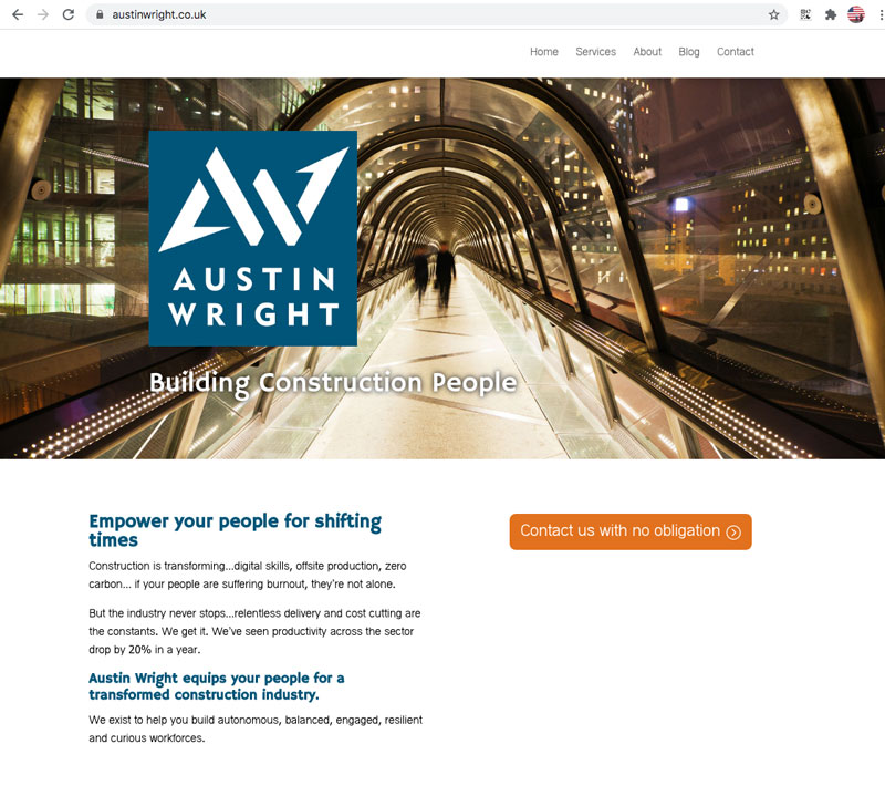 Austin Wright website